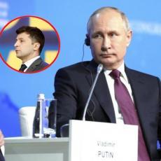 SUDBINA DONBASA SE REŠAVA U JELISEJSKOJ PALATI? Putin i Zelenski oči u oči (VIDEO)