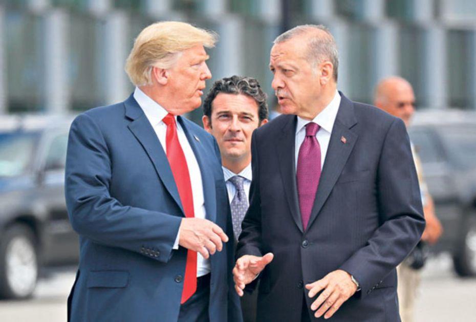 SUKOB TRAMPA I ERDOGANA ZBOG SIRIJE: Turski predsednik ima keca u rukavu - nuklearnim bombama protiv sankcija! (VIDEO)