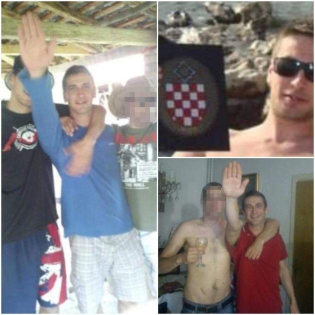 SUPERSONIČNI NACISTA: Kandidat za lokalne izbore u Zagrebu snimljen sa NDH simbolima i nacističkim pozdravom