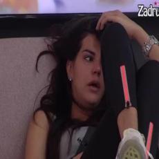 SUZA, SUZU STIŽE! Jovana se osamila na sofi pa NEUTEŠNO ZAPLAKALA, savladale je emocije (VIDEO)