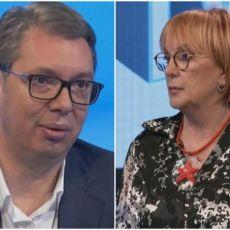SVAKA MU ČAST! Vedrana Rudan se poklonila Vučiću, zbog jedne stvari ga je ishvalila kao niko do sada (VIDEO)