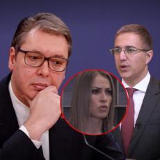SVAKO KO JE UČESTVOVAO U KRIMINALU BIĆE PROCESUIRAN! Vučić poručio Stefanoviću: Na njemu je da vidi da li će ostati ministar!