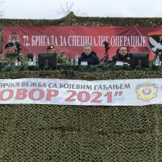 SVE JE SPREMNO ZA ODGOVOR! Završna faza Združene taktičke vežbe sa bojevim gađanjem Vojske Srbije (FOTO)