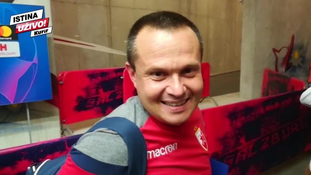 SVE JE TO NORMALNO: Trener golmana Crvene zvezde kao Muta Nikolić (KURIR TV)
