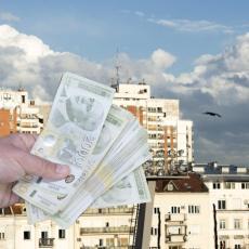 SVE SKUPLJE NEKRETNINE U BEOGRADU: U ovim delovima grada kvadrat je i dalje ispod 2.000 evra!