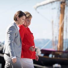 SVEČANI DOČEK U BERLINU: Počeo sastanak Ane Brnabić i Angele Merkel