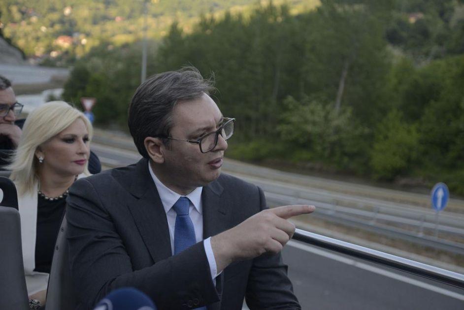 SVEČANOST NA KORIDORU 10: Vučić i Borisov na otvaranju Istočnog kraka ka bugarskoj granici