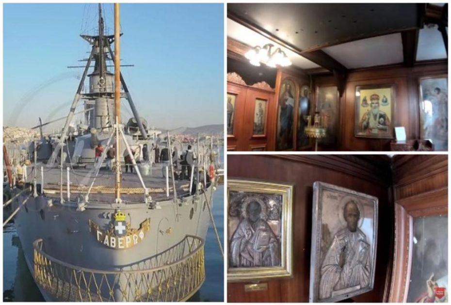 SVETI NIKOLA JAČI OD GRANATA: Grčki brod sa crkvom posvećenoj zaštitniku mornara nikada nije IZGUBIO BITKU (VIDEO)