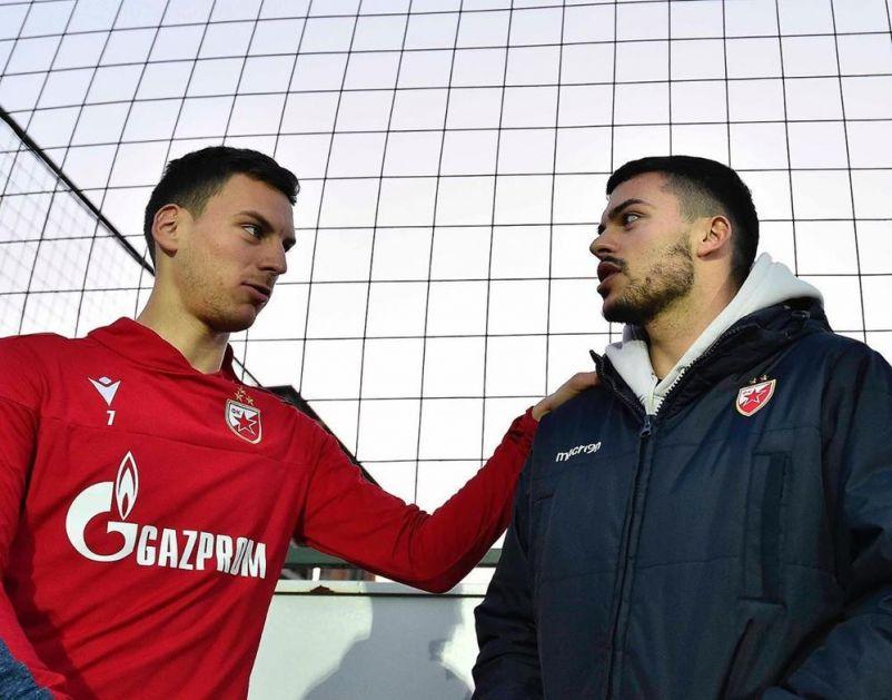 SVI NA MARAKANU: I Radonja će večeras navijati za Crvenu zvezdu protiv Vojvodine (FOTO)