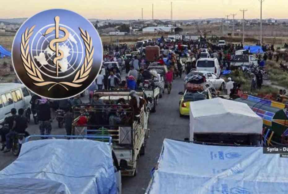 SZO UPOZORAVA: Zbog bolesti i nedostatka vode na jugu Sirije umrlo 15 izbeglica, među njima NAJVIŠE DECE