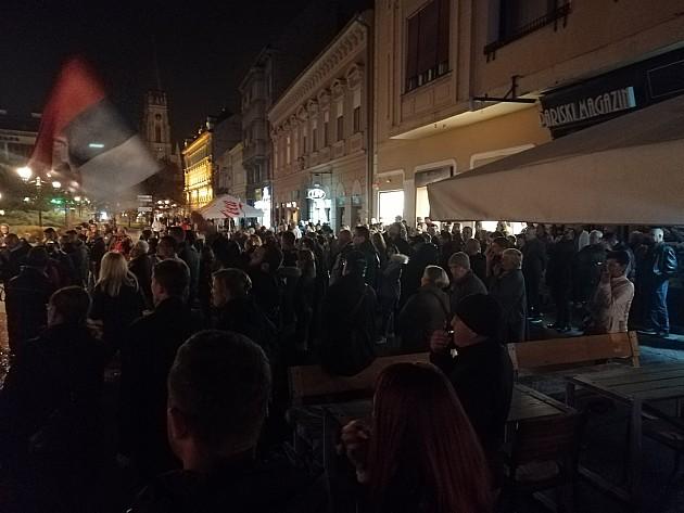 Sa protesta zatraženo da policija otkrije ko je u utorak napao studente u Beogradu