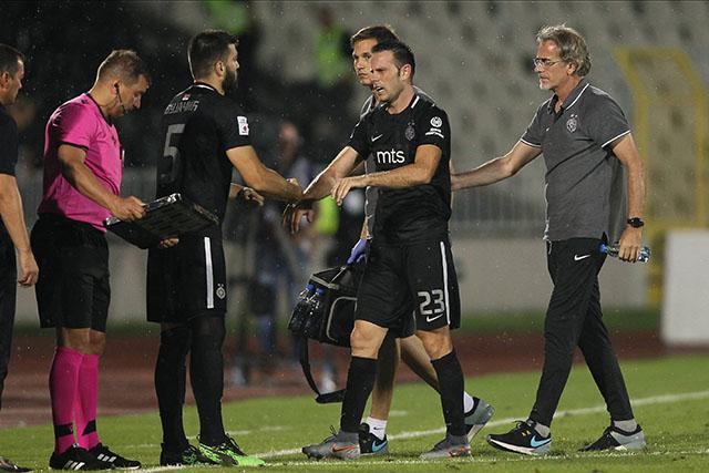 Sada je i definitivno, Partizan oslabljen pred Molde!