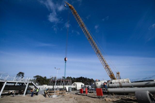 Saga Severni tok 2: Brod koji može da završi gasovod ušao u vode Danske
