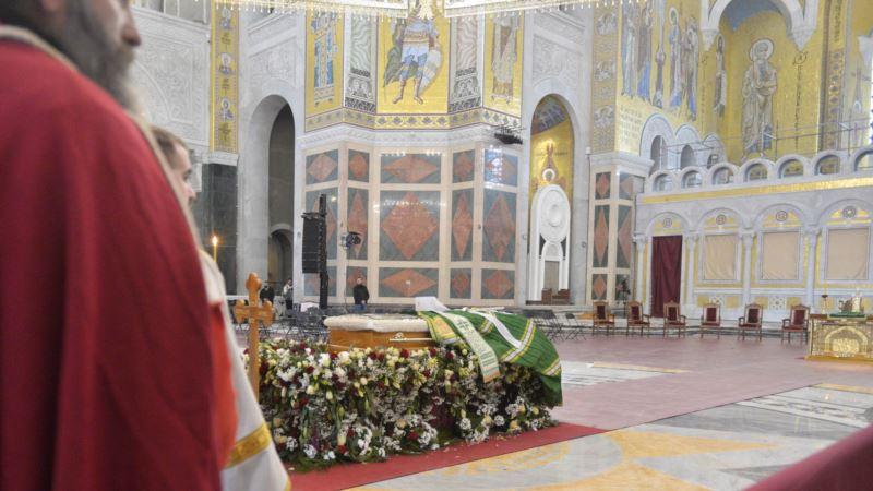 Sahranjen patrijarh SPC Irinej u Beogradu