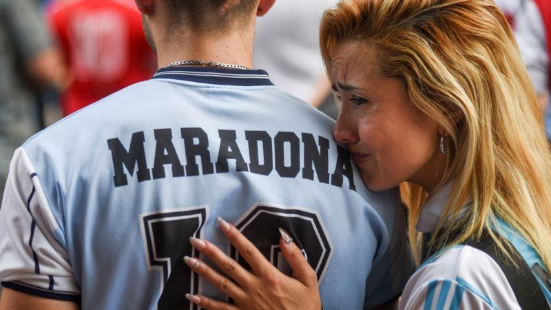 Sahranjen Diego Maradona, trodnevna žalost u Argentini