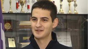Sahranjen mladi fizičar Mihajlo Sporić