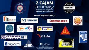 Sajam stipendija na Građevinskom fakultetu u Beogradu