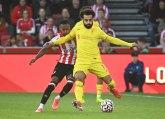 Salahov 100. nedovoljan za pobedu u trileru sa Brentfordom