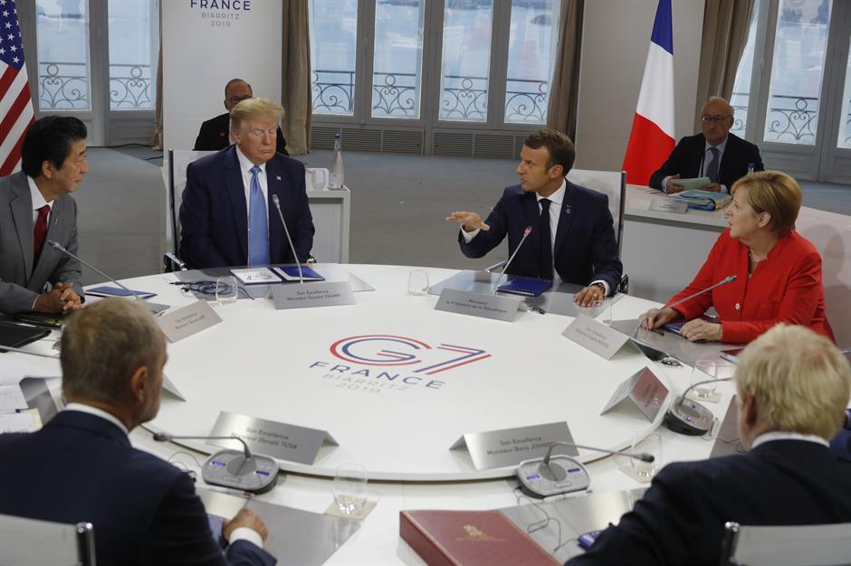 Samit G7: PRŠTALO ZBOG RUSIJE, Tramp zove Putina