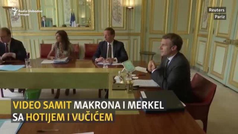 Samit u Parizu: Prvi razgovori Hotija i Vučića