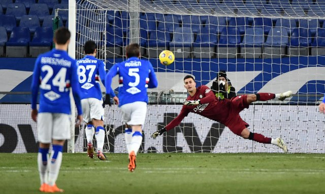 Sampdorija u finišu do pobede nad Udinezeom