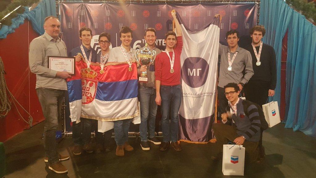 Šampioni znanja - Matematička gimnazija pobednik olimpijade u Kazahstanu