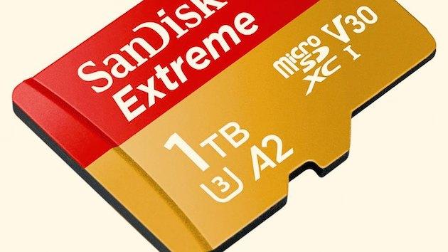 SanDisk: microSD memorijska kartica od 1TB