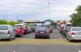 Saobraćaj umeren, bez dužih čekanja putničkih vozila na GP