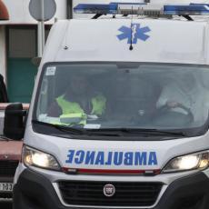 Saobraćajna nesreća u Nišu: Naleteo autom na ženu, polomljena joj potkolenica