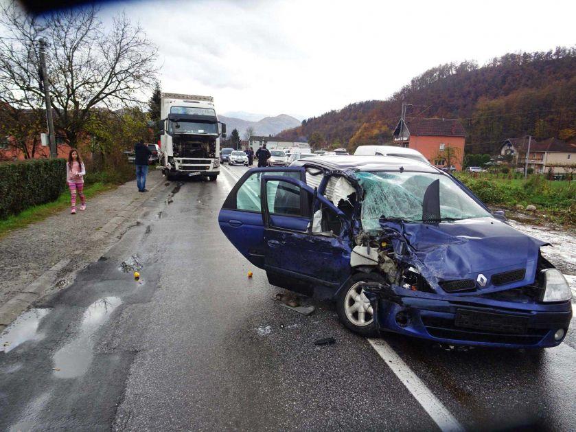 Saobraćajna nezgoda na putu B.Polje – Prijepolje – Teško povrijeđen Edis Kuč