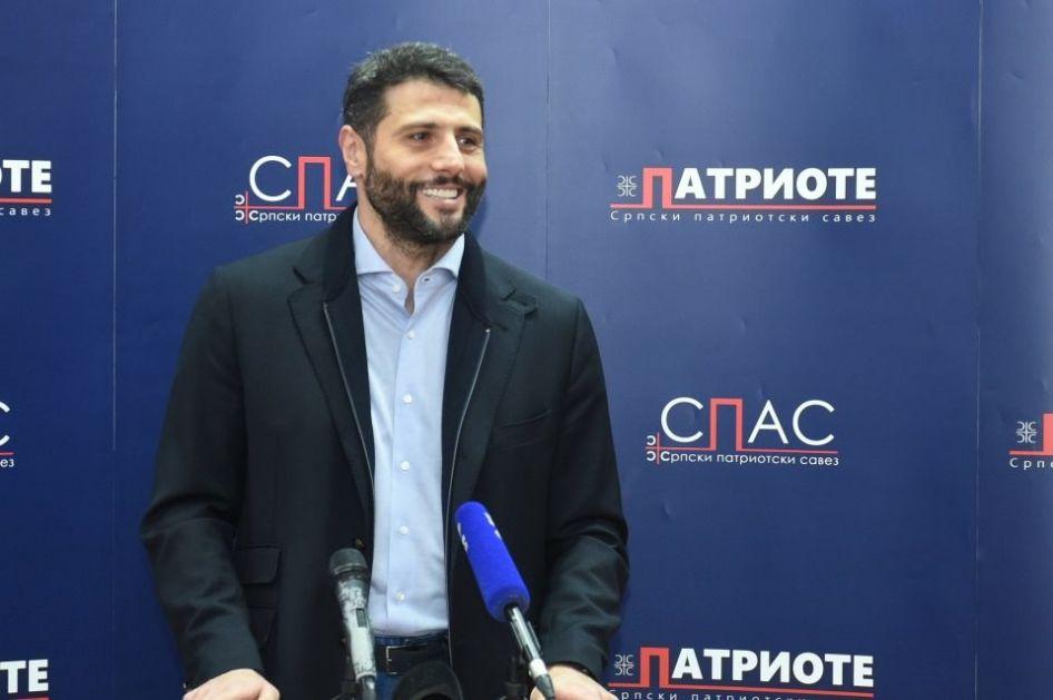 Šapić: Sigurno neću razjedinjavati srpski narod