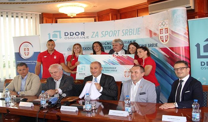 Saradnja DDOR-a i Olimpijskog komiteta Srbije