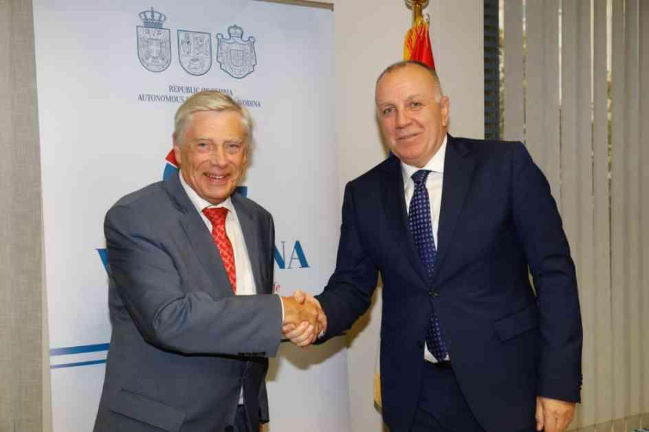Saradnja privrednih komora Vojvodine i Valonije