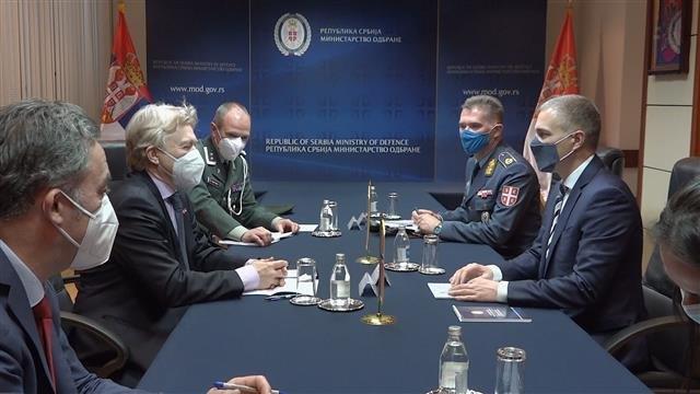 Saradnja - tema susreta Stefanovića i ambasadora Norveške