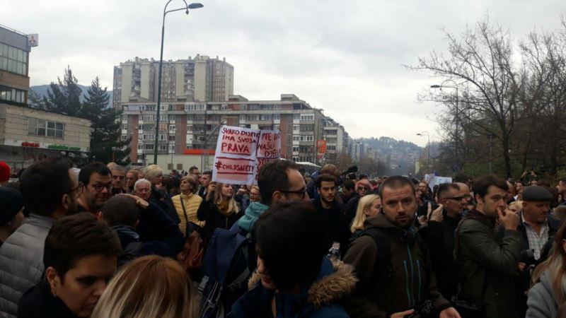 Sarajevo: Završeni protesti zbog odnosa prema djeci u Zavodu u Pazariću