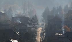 Sarajevo jutros grad sa najzagadjenijim vazduhom na svetu, Beograd na 16. mestu