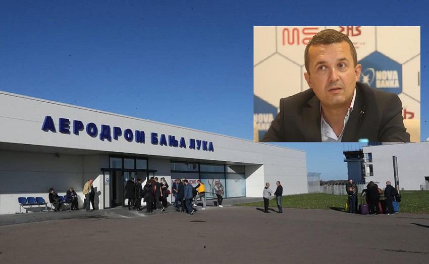 """""""Sarajevo krivo što Aerodrom Banjaluka ima najskuplje gorivo"""""""
