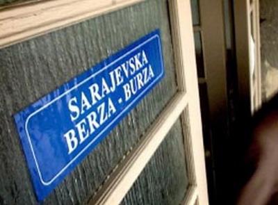 Sarajevska berza: Današnji promet 814.995 KM