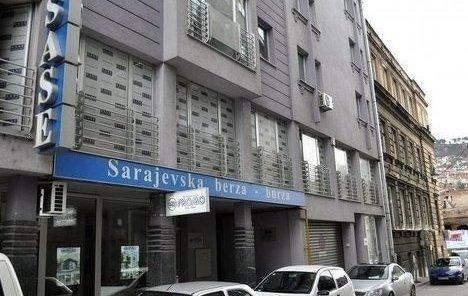 Sarajevska berza: Skromnih 20.000 KM prometa na današnjem trgovanju