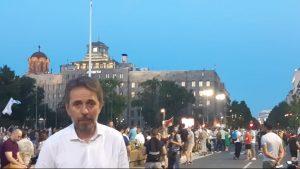 Saša Radulović: Zahtev protesta da bude poništavanje falsifikovanih izbora