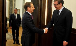Sastali se Vučić i direktor Spoljne obaveštajne službe Rusije