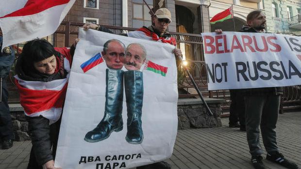 Sastanak Putina i Lukašenka izazvao protest u Minsku