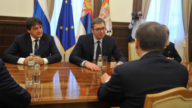 Vučić i Nariškin o bezbednosnoj situaciji