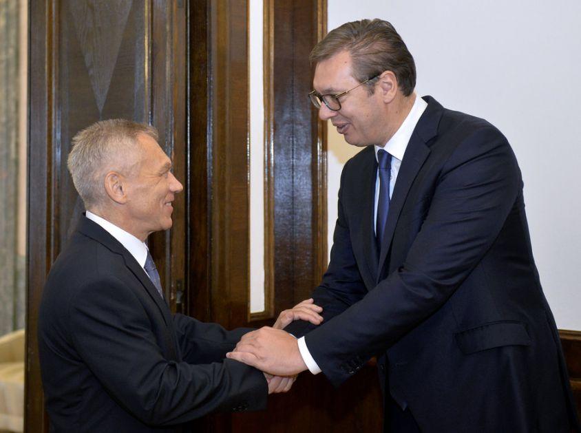 Vučić se sastao sa ambasadorom Rusije; Harčenko: Ništa ne može nauditi odnosima Srbije i Rusije