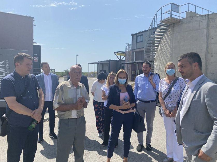Sastanak rukovodstva opštine Vrbas i Evropske komisije, prioritet  priključenje industrije na Prečistač otpadnih voda (AUDIO)