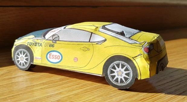 Sastavite trkačku Toyotu kod kuće