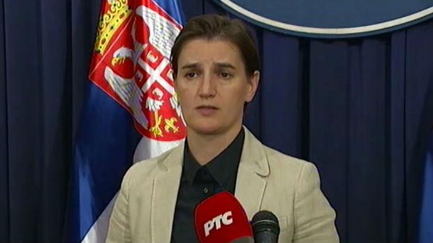 Saučešće premijerke Brnabić porodicama poginulih radnika