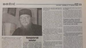 Sava Janjić pre 20 godina o nepostojanju rešenja za Kosovo