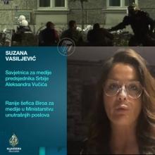 Savetnica predsednika: Policija nikoga nije tukla, vec se branila