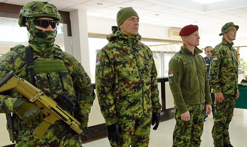 Savremene uniforme pripadnika Vojske Srbije